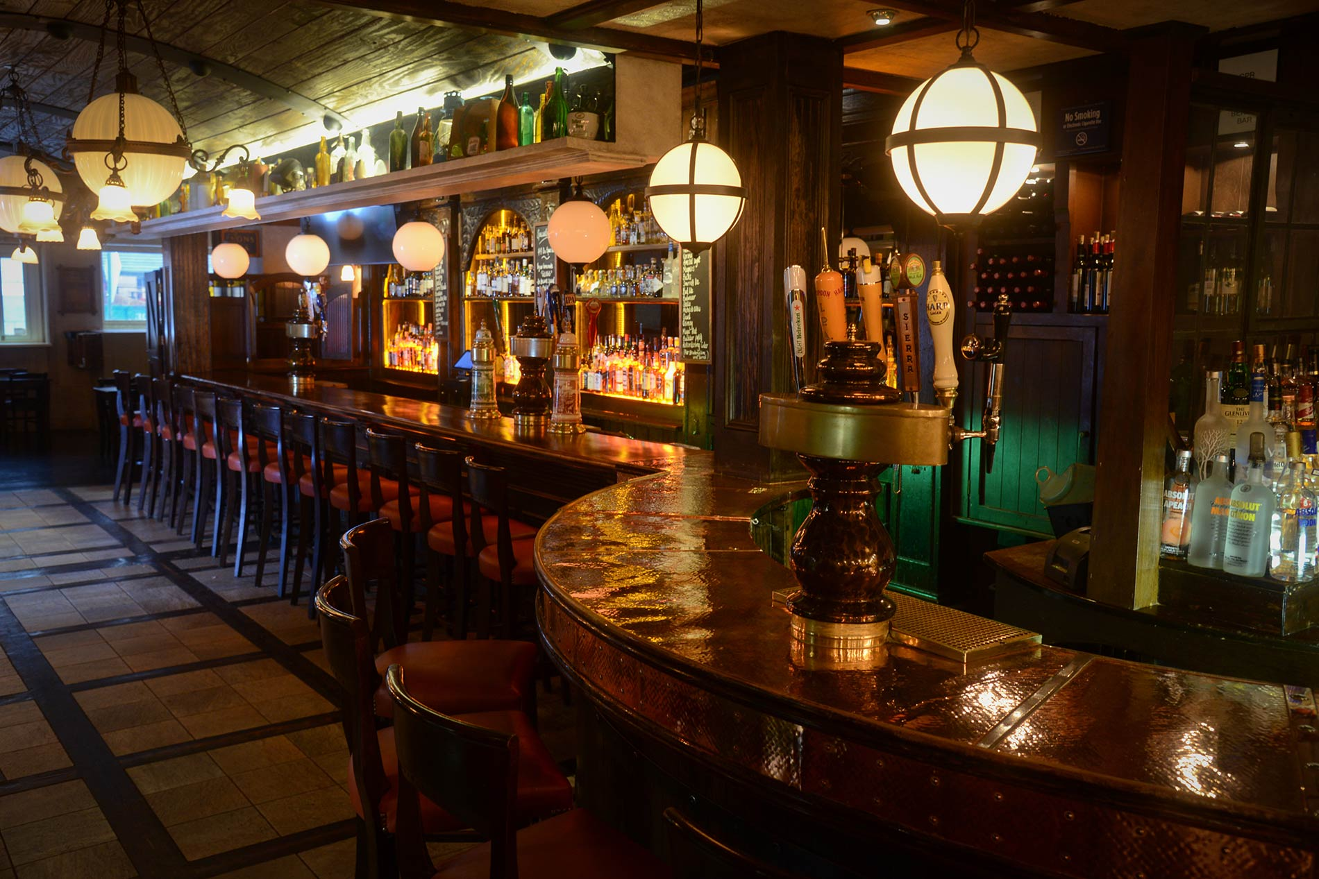 The Full Shilling Bar NYC